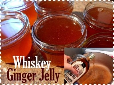 Delicious Whiskey Ginger Jelly Canning Recipe  The Homestead Survival - Homesteading -