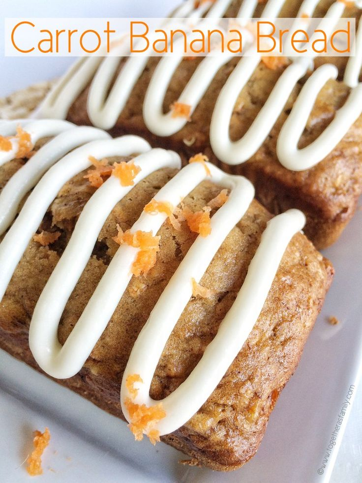 Carrot Banana Bread - Together as Family