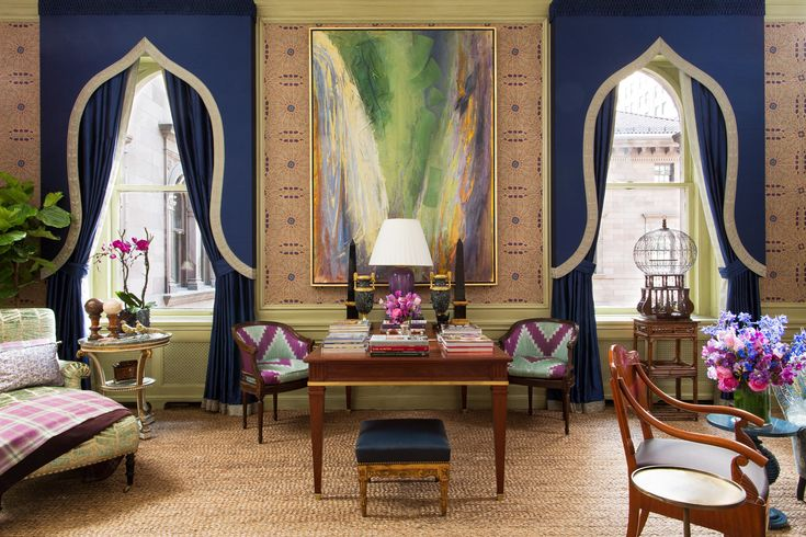 WELCOME TO YOUR FANTASY: ALEXA HAMPTON'S ORIENTALIST ODE AT THE 2014 KIPS BAY SHOWHOUSE — www.stylebeatblog.com