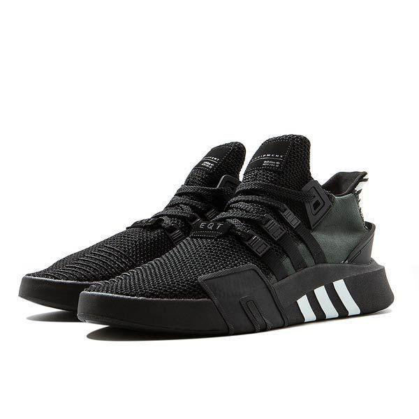 all black adidas eqt