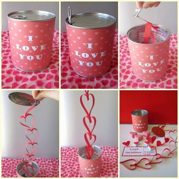 diy valentine's gifts for my husband