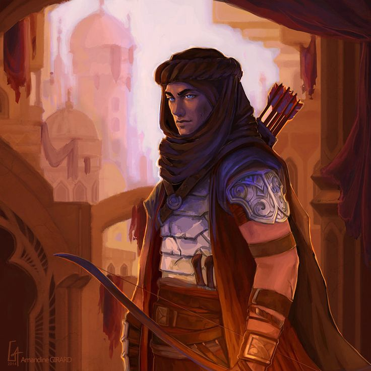 "creativerepositoryblog: "" adedrizils-shrine: ""  The Prince of Desert by Koni-art "" Some inspirational art for gaming. Make sure to check out the artist's page. """