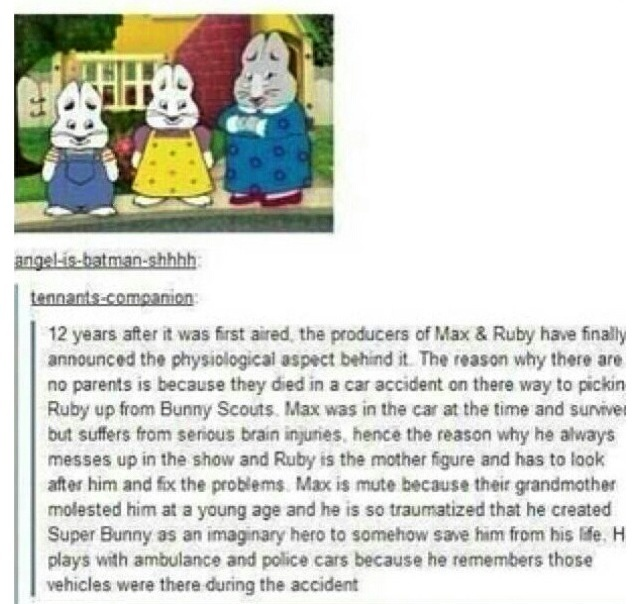 Wish this ruined me... I LOVED THIS SHOW WHEN IN A WAS A KID!!!! :(
