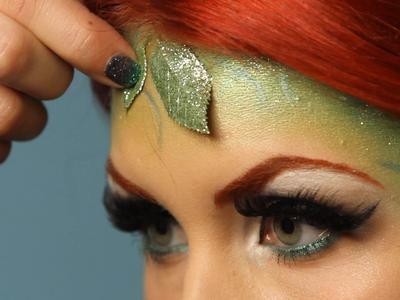 Adult Halloween Makeup Tutorial: Garden Goddess : Decorating : Home & Garden Television
