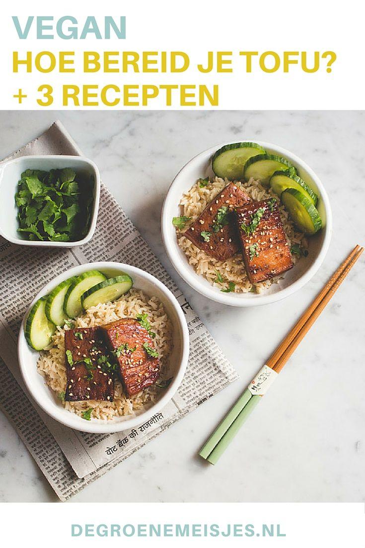 Tofu: wat kan je er mee en hoe bereid je het. We leggen het uit en geen ook nog eens 3 heerlijke vegan recepten met tofu. Ga jij ook koken met tofu?