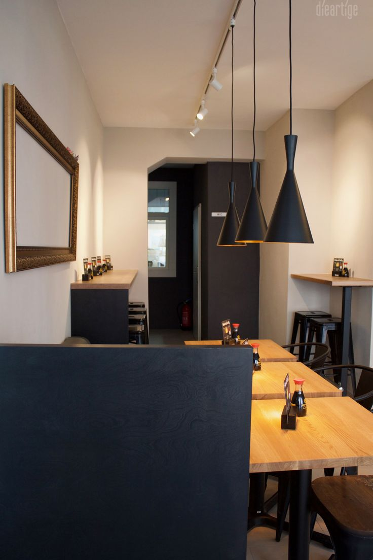 Dieartige raumplanung sushibar sushiking for Raumgestaltung und innenarchitektur