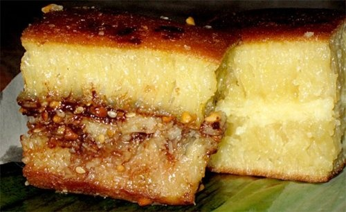Sweet Martabak, Indonesian food. You can choose any flavour you want; cheese,nuts, chocolate etc. One of the best food that you should try!