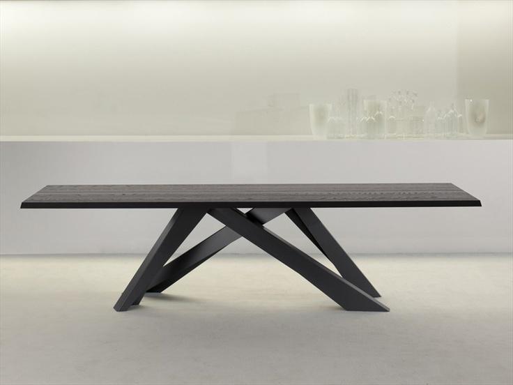 Rectangular #table BIG TABLE by #Bonaldo | #design Alain Gilles