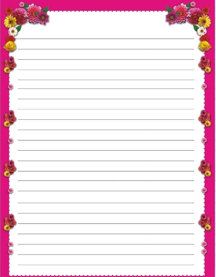 80 best Stationary images on Pinterest Writing paper, Note paper - printable writing paper template