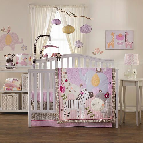 surina 4 piece crib bedding set living textiles babies r us hadley pinterest trees. Black Bedroom Furniture Sets. Home Design Ideas