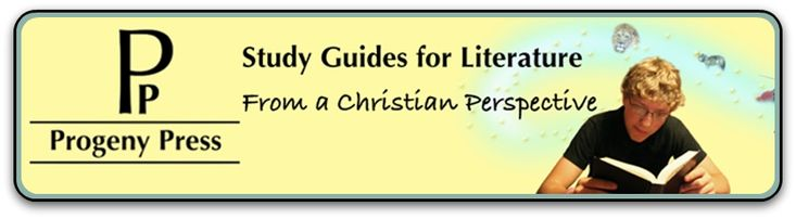 Progeny Press Study Guides for Literature from a Christian Perspective. This is a good review, not the website for it (although there is a link). Includes focus on literary terms, comprehension and analysis, critical thinking skills, vocab, and activity suggestions; a synopsis of the book, literature guide, information about the book's author, background info about the setting,era pre-reading activities,  an overview (can be used as a final test),  essay and project suggestions, and answer…