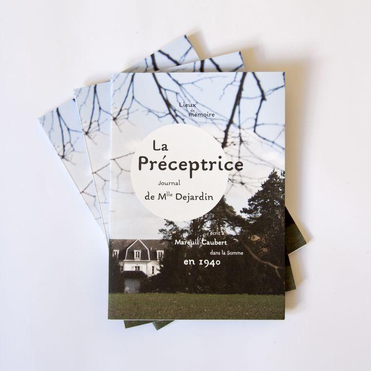 La Préceptrice - Photographie et conception graphique : Chloé Bureau