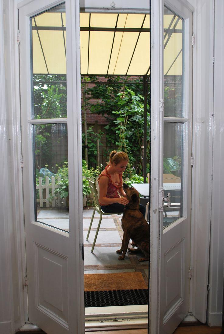 25 beste idee n over frans terras op pinterest openlucht woonruimtes kalksteen patio en - Moderne buitentuin ...