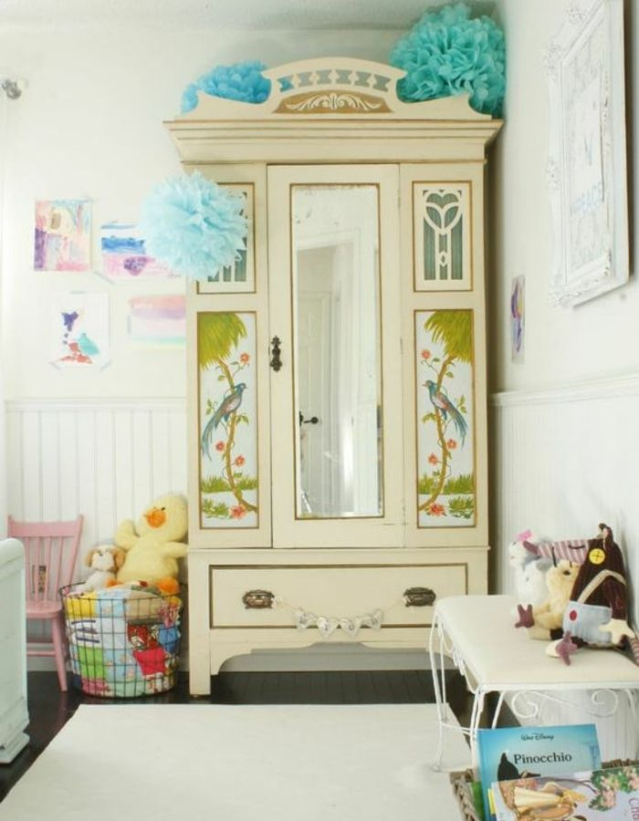 1000 id es propos de armoire de linge sur pinterest ling re armoire l - Relooker une armoire ikea ...