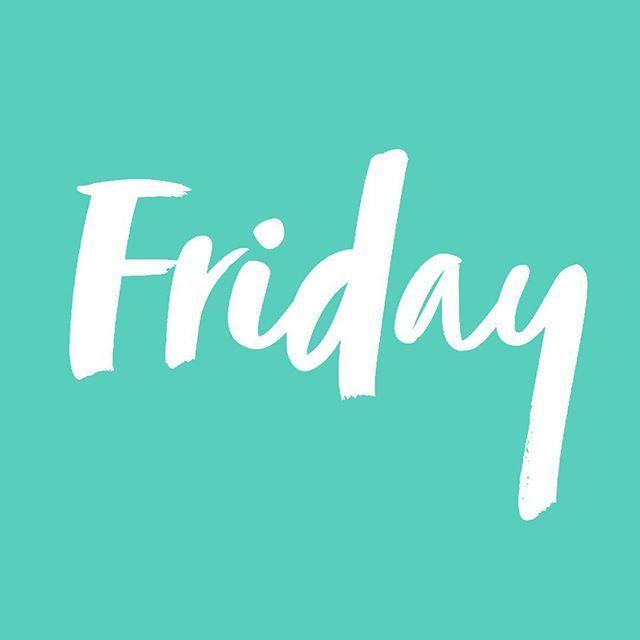 I've got that Friday feeling! 🎉