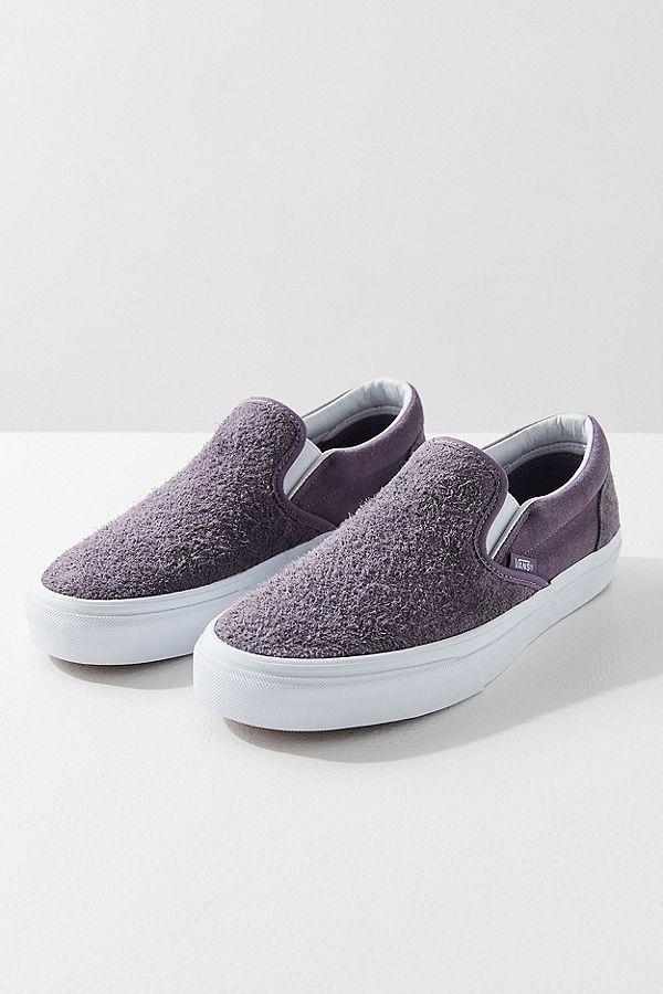 45922fdcef Vans Hairy Suede Classic Slip-On Sneaker