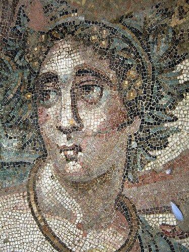 Villa romana del Casale, Piazza Armerina, Sicilia,  I mosaici del IV secolo.