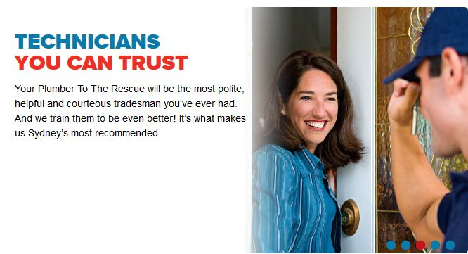 Plumber To The Rescue - Technicians you Can Trust