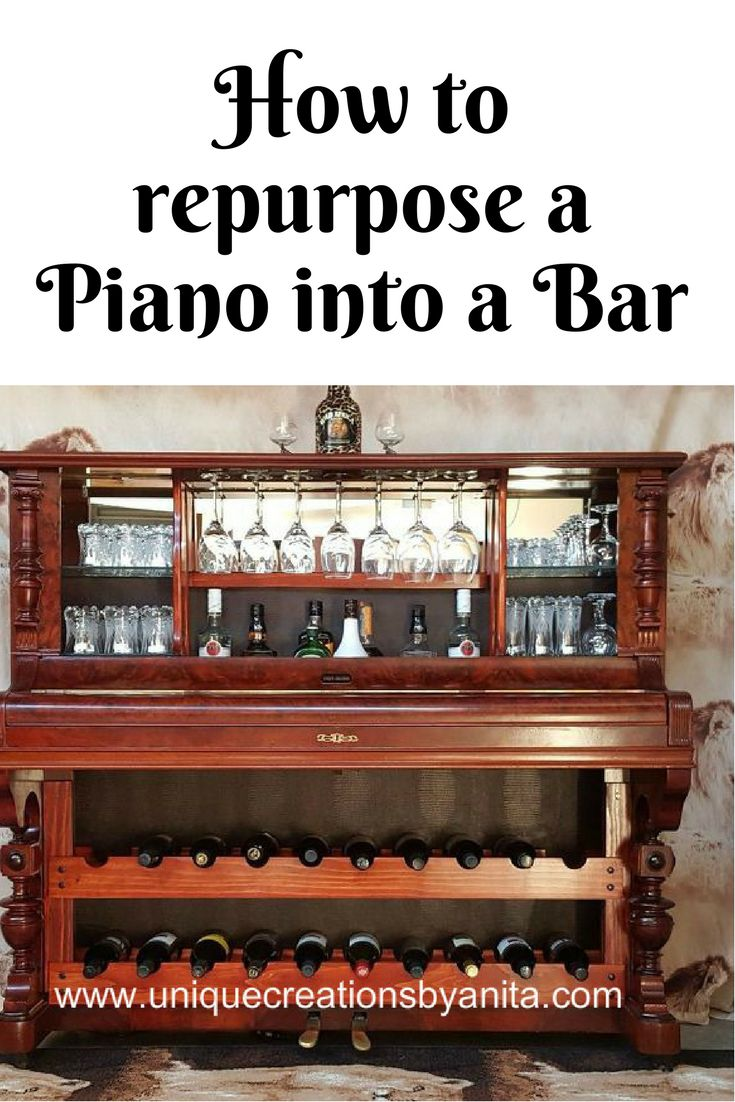 How to repurpose a Piano into a