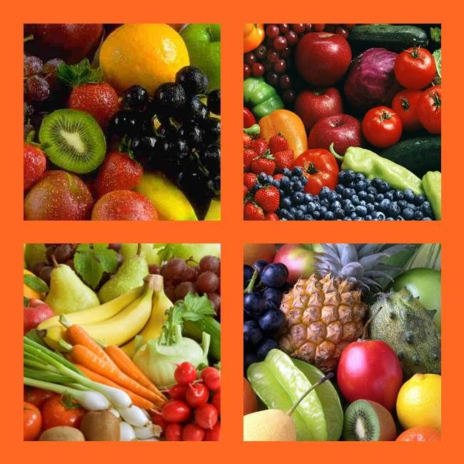 Every day, eat healthy fresh washed fruit and vegetables