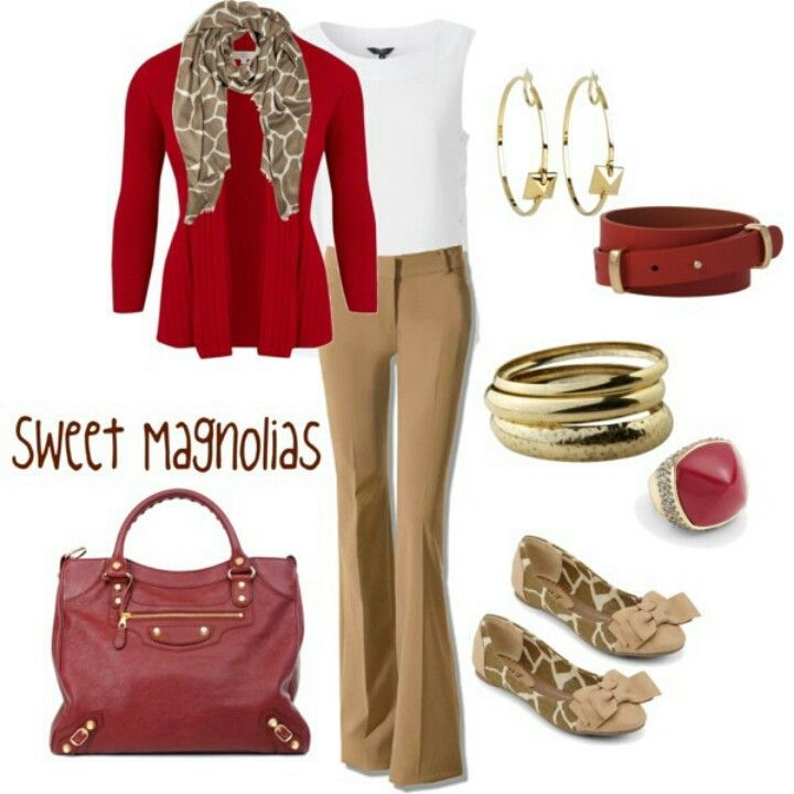 casual+work+clothes | Business casual- NOW the PANTS work with this ensemble...LOVE the ...