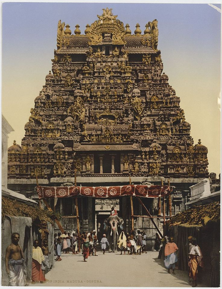 Ch XXVII - Thirty Million Idols, Madura (Madurai) Category:Historical images of Madurai Meenakshi temple - Wikimedia Commons