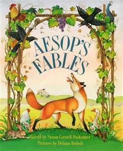 Aesop 6th century BC  source of over 600 fables