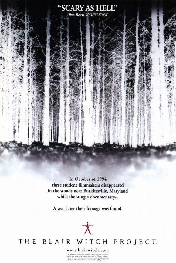 The Blair Witch Project 11x17 Movie Poster (1999)