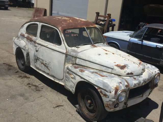 1957 Volvo PV444 Patina Rat Rod Project Car for sale: photos ...