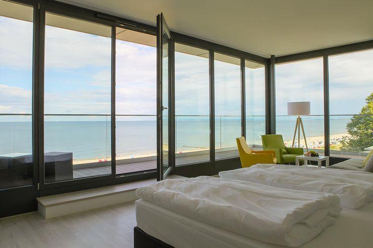 Kaiserstrand Beachhotel Bansin Mitte - Junior Suite Panorama
