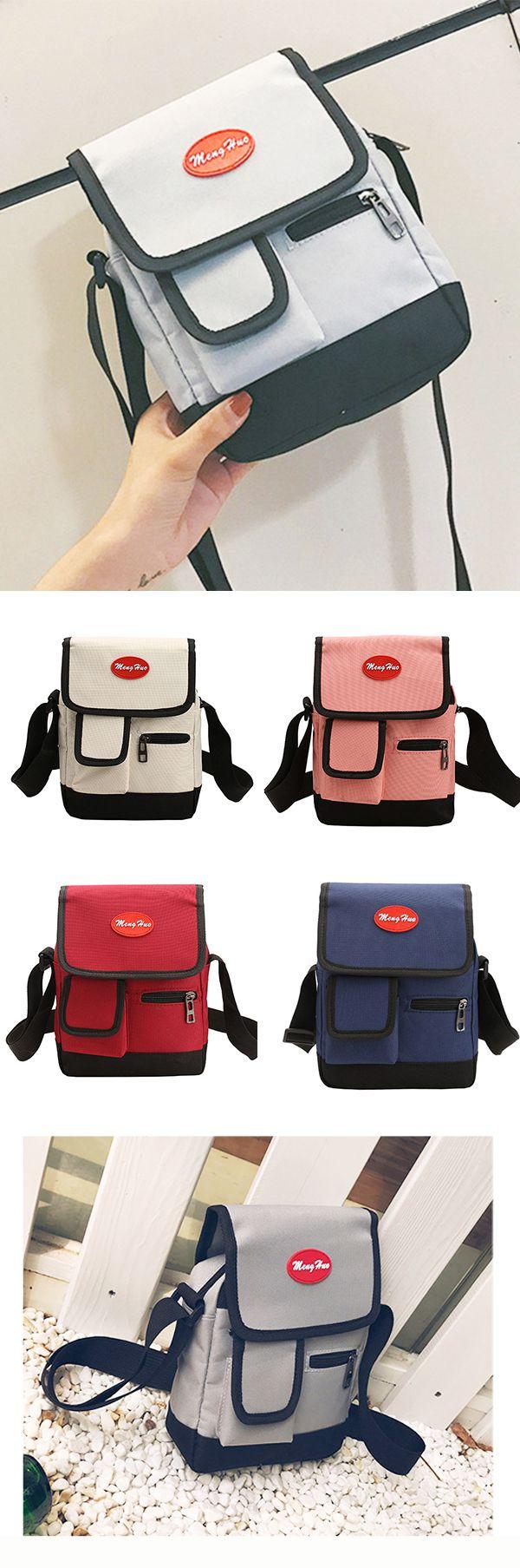 Nylon Weekender Bag /Casual Crossbody Bag