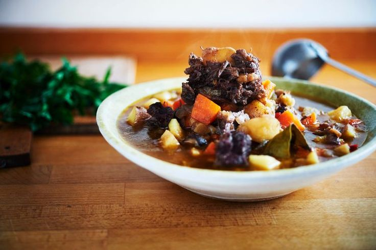 Wonderfully Rich With Flavor - Italian Ox-tail Stew