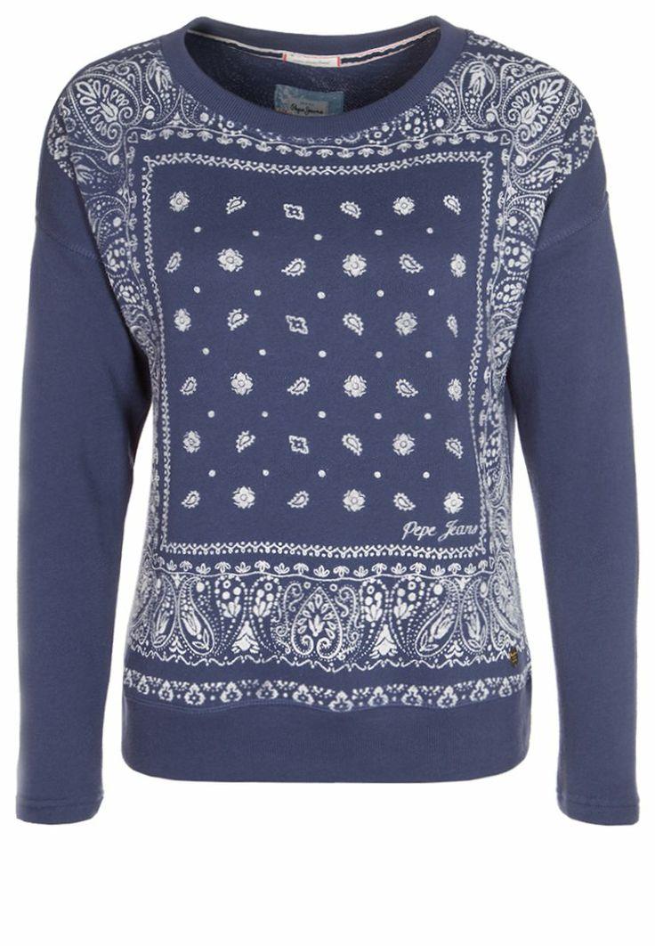 Pepe Jeans - VIOLETA - Sweatshirt - blue