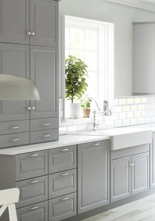 Gorgeous gray kitchen spaces: http://www.stylemepretty.com/collection/2748/