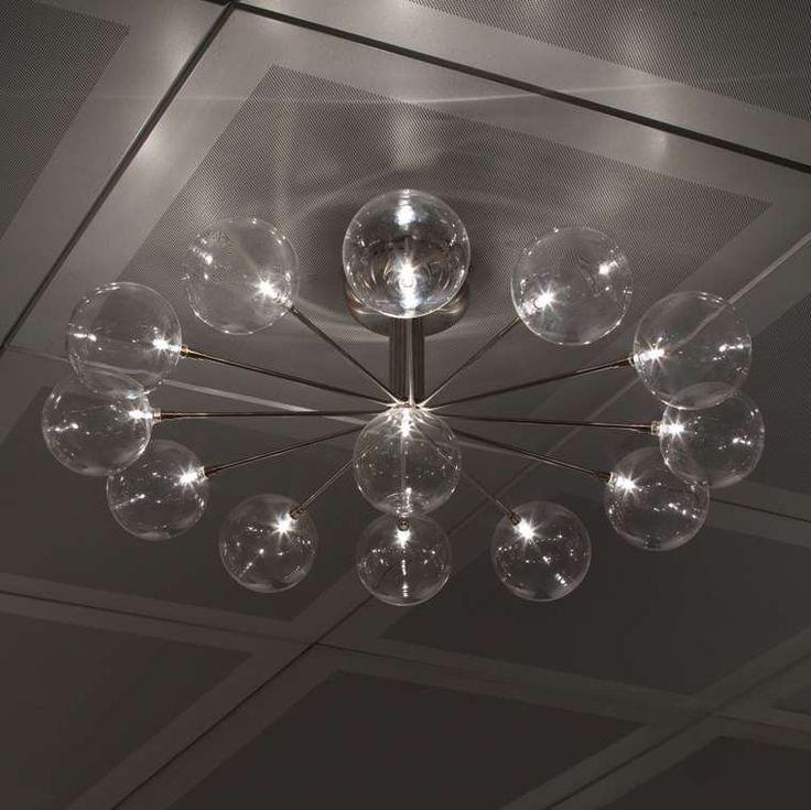 Harco loor design cluster wheel pl13 ceiling light