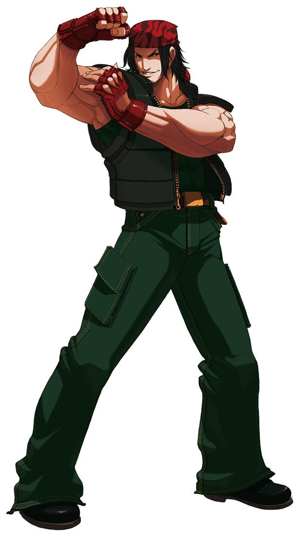 Ralf Jones from The King of Fighters 2003