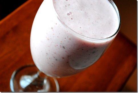 ... ! ...Strawberry Banana Chocolate Shake ... or should I say smoothie