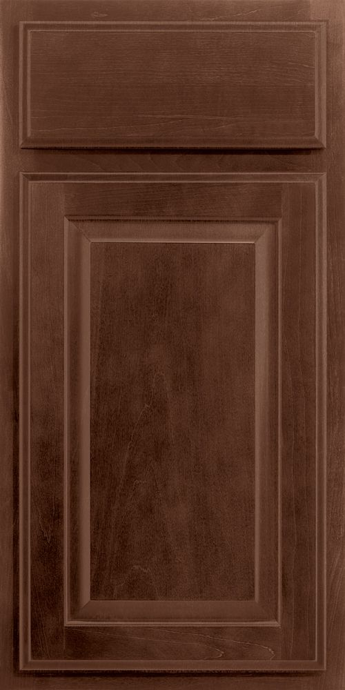 merillat classic seneca ridge cabinet door in pecan stain on maple wood - Merillat Classic Kitchen Cabinets