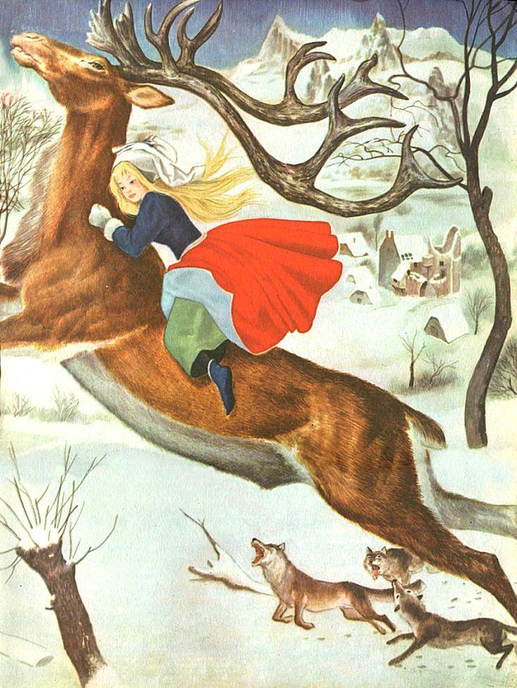 Сказочные Иллюстрации: Сказки - Снежная Королева