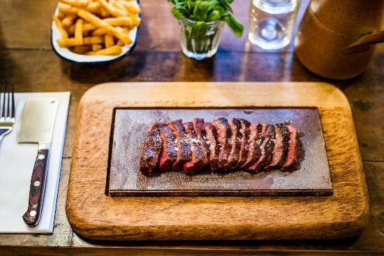POT OF STUFF: London Food: Flat Iron