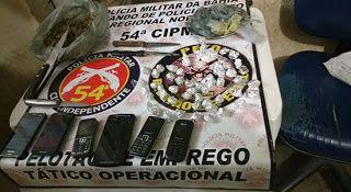 NONATO NOTÍCIAS: PM ESTOURA BOCA DE FUMO E CONDUZ EM FLAGRANTE 01 T...