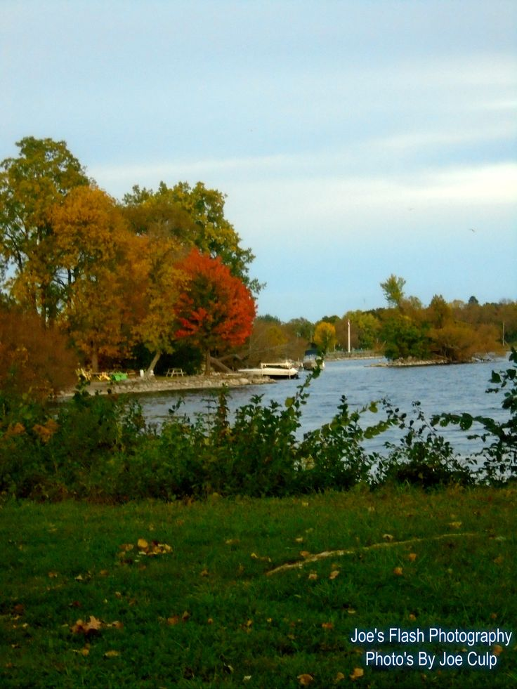 Autumn 2015 on the Bay of quinte Belleville Ontario