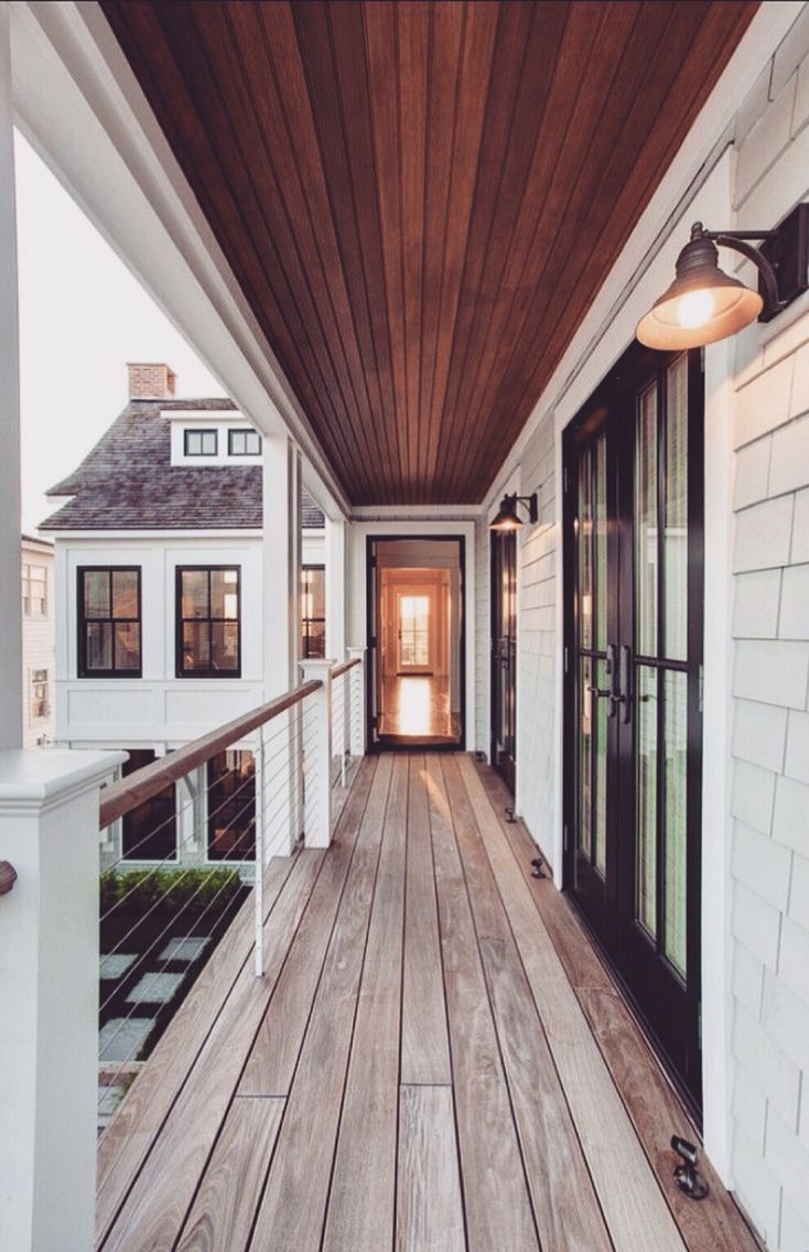 Find this pin and more on exterior homes balcony with modern railings