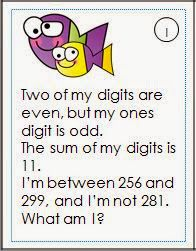 Place Value Riddles That Will Keep Your Students Thinking! Hello Teaching Friends! If you're looking for something new to challenge your early finishers you'll love this set of math riddles for three digit numbers.They're also great for math centers bell work and enrichment. Yourstudents will be thinking hard ... and isn't that what every good teacher wants? ;) Here's one for you to try. Got you thinking didn't it? ;) Click on the cover to get them all. Happy Teaching! 3-5 Linda Nelson place…