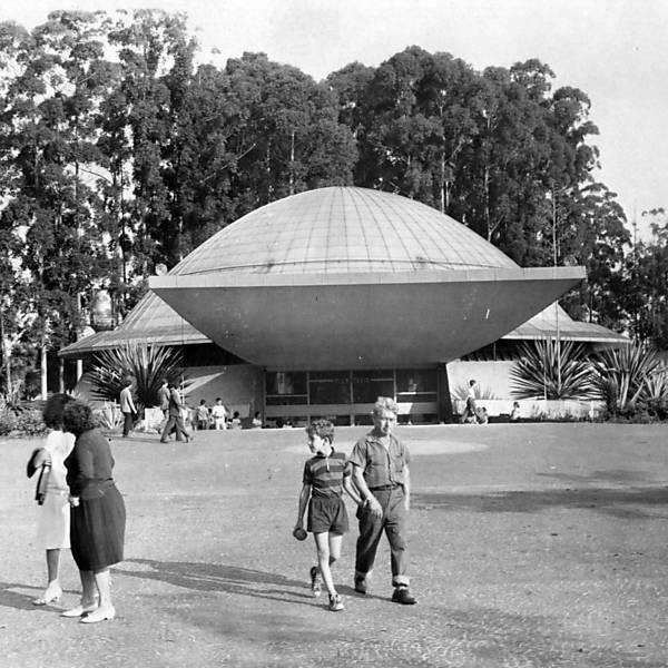 Planetário do Ibirapuera em 1965. Folhapress