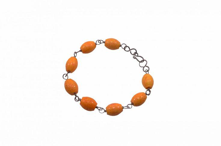 Βραχιόλι με κοράλλι - Bracelet with coral