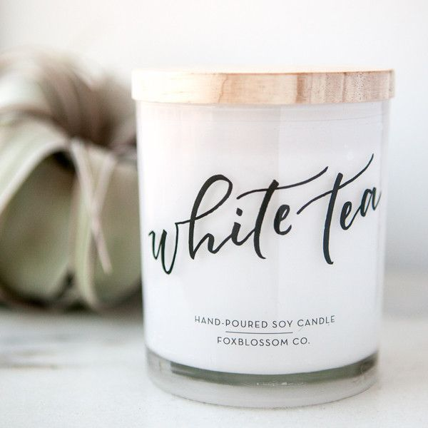 Hand-poured Soy Candle