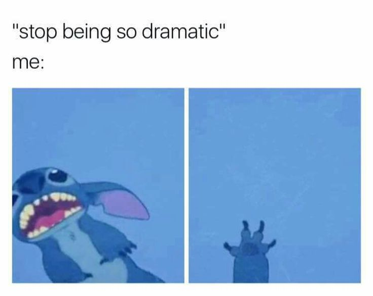 On a scale of one to ten, I'm as dramatic as the Phantom of the Opera overture