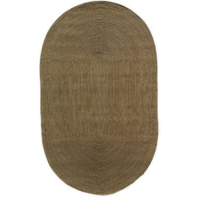 Rugs America Colony Brown Area Rug Rug Size: Oval 8' x 11''