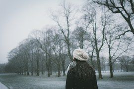 Winter, Girl, Snow, Cold, Season, White